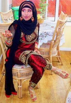 asian style hijab...love it