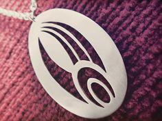 Pendants – Star Trek Borg Symbol Pendant Necklace – a unique product by Thestridentwhim on DaWanda