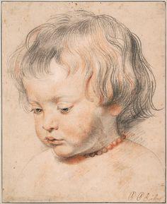 "Peter Paul Rubens - ""Nicolaas Rubens Wearing a Coral Neckless"""
