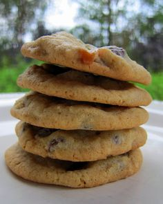 Chocolate Chip Turtle Cookies