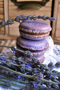 ☆ cookies, macaroons, lavender