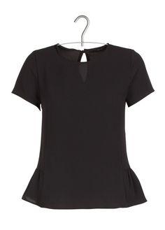 E-shop Top Fluide En Crêpe De Coton Noir Ikks pour femme sur Place des tendances Groupe Printemps. Retrouvez toute la collection Ikks pour femme.