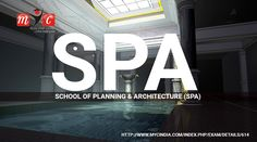 Hello, my fellow students, listen carefully, School of Planning & Architecture (SPA) entrance exam 2017 is to be held on date 29th to 31st March and 1st April 2017. Those who are willing to get detailed info about syllabus & seat allocation visit on: http://www.mycindia.com/index.php/exam/details/614