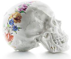 - Skull Decor, Skull Art, Art Decor, Memento Mori, Floral Skull, Vanitas, Skull And Bones, Art Plastique, Holiday Gift Guide