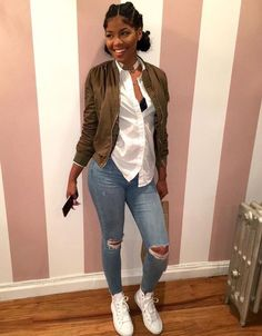 Black Girl Fashion, Womens Fashion, Urban Fashion, Everyday Outfits, Dope Outfits, School Outfits, Winter Outfits, Casual Outfits, Casual Ootd