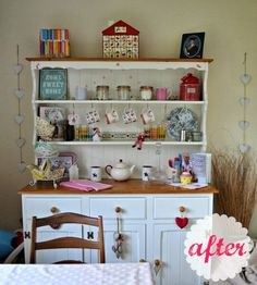Write Like No One's Watching: Upcycling a Welsh Dresser