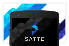 Satte EPS vector logo design by FineOrigins on @creativemarket