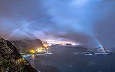 Moonbow over O'ahu by Paul Parks