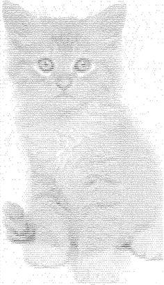 ♥♥♥ Cats: ASCII Art