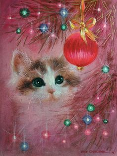 25 Awesome Old-School Christmas Cards: An End of an Era?