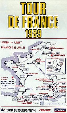 Bildresultat för tour de france 1989 posters
