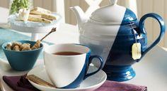 Un service à thé graphique