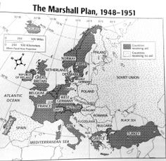 Marshall Plan Begins • April 1948 http://en.wikipedia.org/wiki/Marshall_Plan .... click on image to enlarge