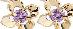 Da.Wa Flower Shape Crystal Diamond Stud Earrings in 18K Gold Plated No description (Barcode EAN = 9658479265638). http://www.comparestoreprices.co.uk/december-2016-week-1/da-wa-flower-shape-crystal-diamond-stud-earrings-in-18k-gold-plated.asp