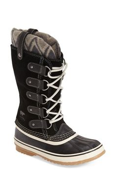 Free shipping and returns on SOREL 'Joan of Arctic - Knit II' Waterproof Boot (Women) at Nordstrom.com. Take on winter weather in a waterproof boot designed with a handcrafted, vulcanized rubber shell. The knit cuff and double pull-tabs keep the look fresh, while a herringbone sole gives you serious wet-weather traction.