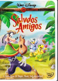 Saludos Amigos (DVD, 2000) Walt Disney Collection Movie Goofy Donald Duck  Rare