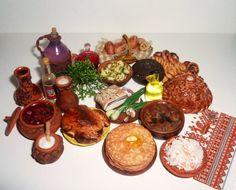 Reallistic Dollhouse miniature 112 Ukrainian от miniatureVictoriya, $250.00