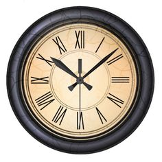 Antique Round Wall Clock