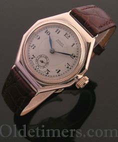 94c0caf5036 1920s 9ct gold vintage Rolex Oyster watch Watch Drawing