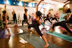 A Pacific Beach hot yoga studio offers a traditional 75-minute flow set to untraditional music. #NextLevelWorkouts