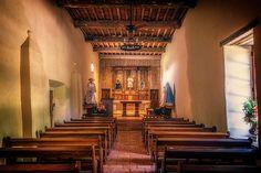 Mission San Juan Capistrano Chapel by Joan Carroll