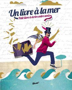Un livre à la mer, livre communautaire à écrire à plusieurs - ©Editions Graine2