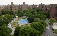 Parkchester, Bronx, from on high