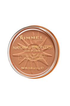 """Bronzer  """"Somehow, Rimmel manages to create formulas that aren't ruddy-red or Jersey Shore orange: just the great, coveted in-between — a rarity in the drugstore aisle. Buy them in matte for sculpting or shimmer to replace your blush for a believable glow."""" — Phillip PicardiRimmel London Natural Bronzer, $4.99, available at Ulta."""