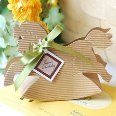 Rocking Horse Favor Boxes by Beau-coup