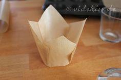 Tulip Muffinförmchen selber basteln | Videkiss