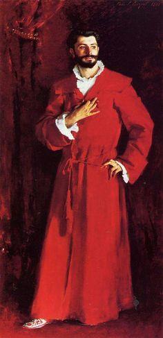 John Singer Sargent Dr. Pozzi at home 1881 Media: oil, canvas Dimensions: 111.4 x 204.5 cm Location: Hammer Museum ( University of California), Los Angeles, CA, US