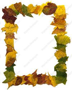 Айрис-фолдинг из осенних листьев   Страна Мастеров