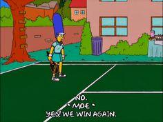 marge simpson season 12 tennis bad playing episode 12 court 12x12 via diggita.it #tennis