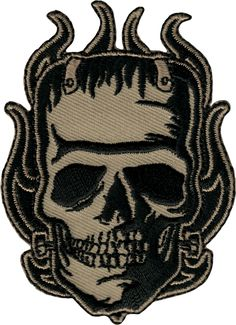 """Authentic FEAR Logo Embroidered Patch 2/"""" x 4/"""" NEW"""