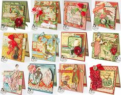 Scraps of Life: Day 12 - Graphic 45 The Twelve Days of Gift Tutorials