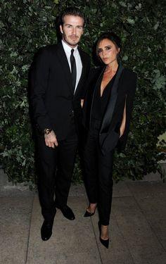David and Victoria Beckham Couple Pictures | POPSUGAR Celebrity