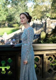 Blair Waldorf in her ELIE SAAB wedding gown