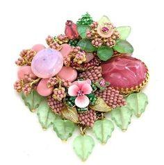 stanley hagler vintage jewelry | Stanley Hagler Ian St Gielar Pink...