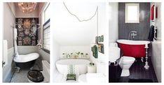 Małe łazienki z wanną - galeria wnętrz #MAŁA ŁAZIENKA #MAŁA ŁAZIENKA Z WANNĄ #WANNA #ŁAZIENKA