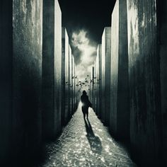 """© Kaveh Hosseini (Steppenwolf) Gate To Unreality """"Open wide t... #photomanipulation"""