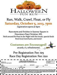 Halloween 5k Fun Run Fundraiser