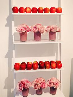 """""""Red apples and pretty roses...it's nearly time to reveal @LoveHauschka new 2015 launch"""""""