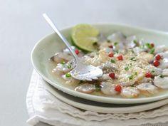 Shrimps-Ceviche ist ein Rezept mit frischen Zutaten aus der Kategorie Garnelen. Probieren Sie dieses und weitere Rezepte von EAT SMARTER!