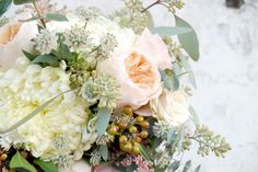 muted pastels and astrantia swallows and damsons