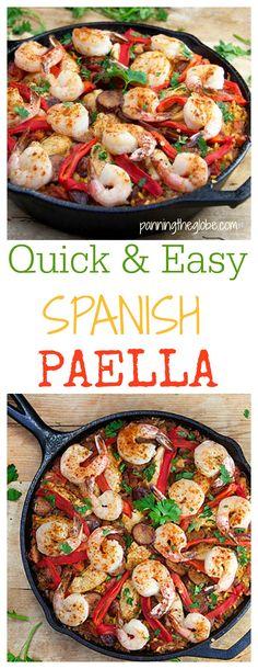 1000+ ideas about Paella Recipe on Pinterest   Paella, Seafood Paella ...