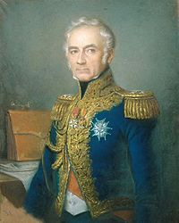 Charles Tristan, marquis de Montholon (July 21, 1783 - August 21, 1853) was a French general during the Napoleonic Wars. He chose to go into exile on Saint Helena with the ex-emperor after Napoleon's second abdication.