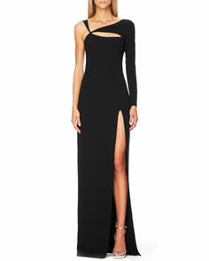 Cutout Single-Sleeve Gown by Michael Kors at Bergdorf Goodman.