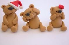 Christmas cake Toppers