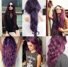 Image result for unnatural hair colors