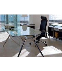 Tusch Glass Office Desk - Arkitek